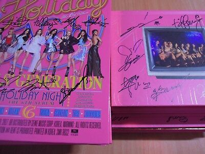 SNSD - Holiday Night (6th Promo) with Autographed (Signed) 139.99