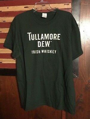 **new**tullamore Dew-Irish True Shirt, Irish Whiskey, Size Xl Or Large, St. Pats