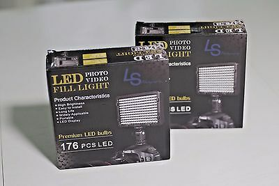 LED 11W Video Fill Light [ Portable Uses Sony Batteries Cordless ]