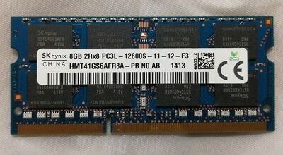 Hynix 8GB 1600 Mhz DDR3L Laptop RAM Memory PC3-12800 8G 1.35v Low Voltage