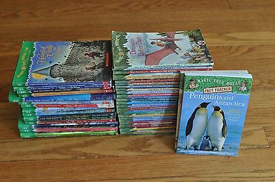 Lot of 45 Magic Tree House Books #1 - #28 + Facts, Research 15 Merlin