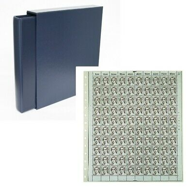 Classic Value 14-ring Mint Sheet Album-Navy Blue