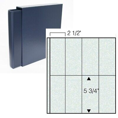 Classic Value 14-ring Matchbook Cover Album-Navy Blue