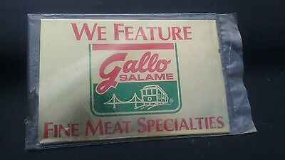 Gallo Salame Sign