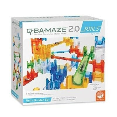 Q-BA-MAZE 2.0 Rails. MindWare. Shipping Included