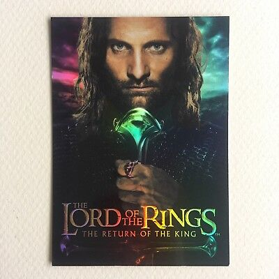 Scarce Bonus Foil #1 / Return Of The King / Lord Of The Rings Cards / Box Topper