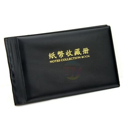 NEW Bank Note Stock Collection Collecting Album Storage Money Holder Pocket Coin