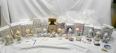 Precious Moments, Lot Of 12 Figurines