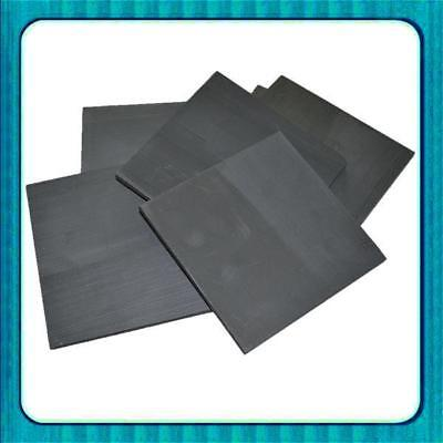 3pcs High Purity 99.99% Graphite Electrode Rectangle Plate 50*40*3mm