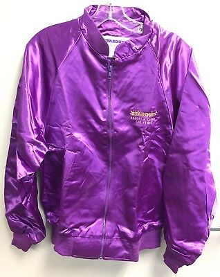Stardust Resort & Casino Vintage Las Vegas Purple Acetate Super Rare Good Cond