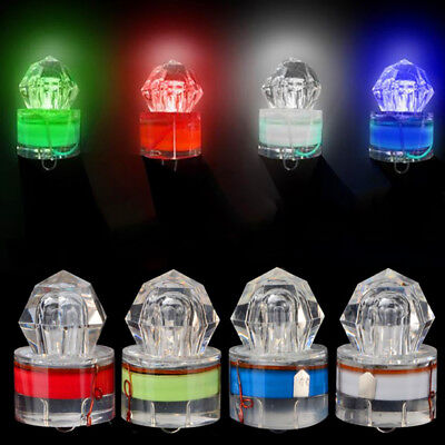 LED Diamond Deep Sea Fishing Light Lamp LED Attracting Squid Strobe Bait Lure
