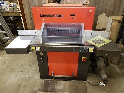 Printing paper Electronic Guillotine Goodhale 550E