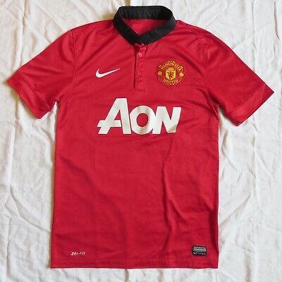 MANCHESTER UNITED Nike Home Shirt 2013/14 (S)
