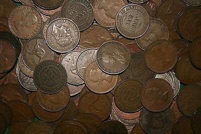 1kg BULK Australian One Penny/Pennies 1911-1964 One Kilogram