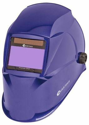 Weldclass Promax 350 4 Sensor Auto Welding Helmet - Blue w Grind-Mode - WC-05313