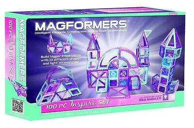 MAGFORMERS Inspire 100 Piece Set Playset. Free Shipping