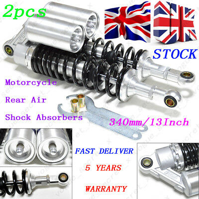 340mm13inch Motorcycle Rear Air Suspension Shock  Absorber Replacement Fit Honda