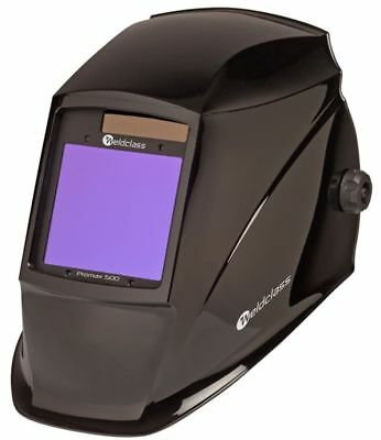 Weldclass Promax 500 (Dual Shade & Grind Mode) Welding Helmet Black