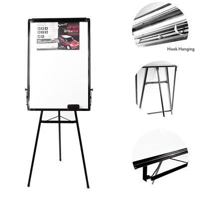 Quality Flip Chart Easel Magnetic Whiteboard Presentation Board 900X600mm Stand