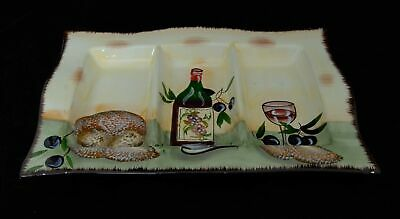 Large Unbranded Three Section Serving Dish