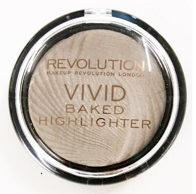 Makeup Revolution Vivid Baked Highlighter Strobe Powder Golden Lights New