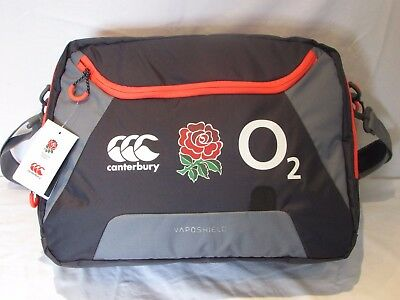 Canterbury England Rugby Messenger Bag Rrp £40 Only 11 Left