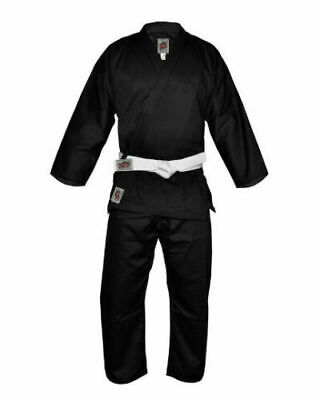NEW KARATE UNIFORM MARTIAL ARTS 8Oz HIGH QUALITY GI 100% COTTON EASY FIT