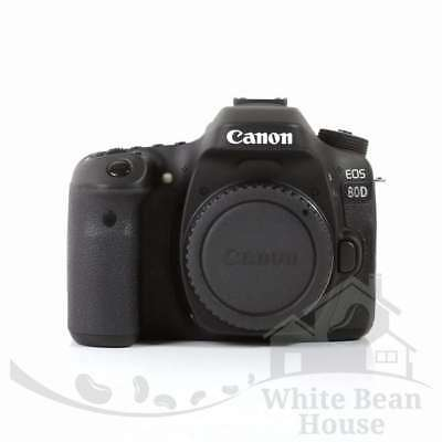 NEW NEW Canon EOS 80D DSLR Camera Built-In Wi-Fi with NFC Body (Kit Box)