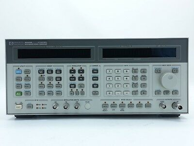 Keysight Used 8665B Synthesized signal generator, 0.1-6 GHzOpt. 004 (Agilent)