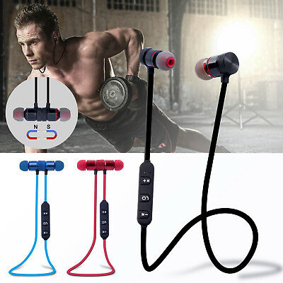 Bluetooth Wireless Stereo Sport Earphone Earbuds Headset Headphone for iPhone 8