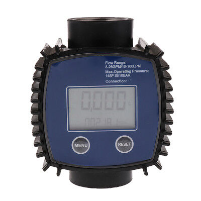 Turbine Digital Diesel Fuel Flow Meter For Chemicals Water Flow Rate Sensor