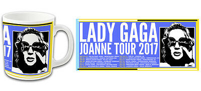 Pop Star Lady Gaga Joanne Tour 2017 Printed Mug Top Quality Bargain Price