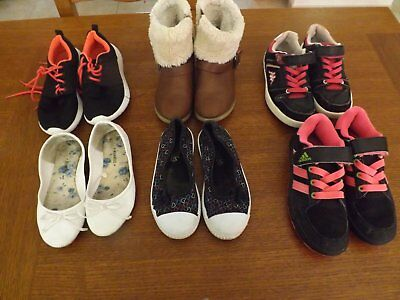 lot chaussures fille 31/32/33