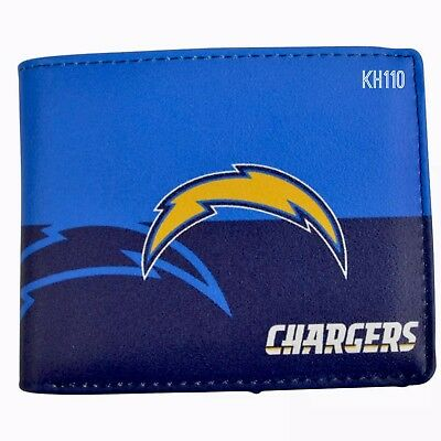 LOS ANGELES RAMS NFL Men's Printed Logo Leather BiFold Wallet  free shipping