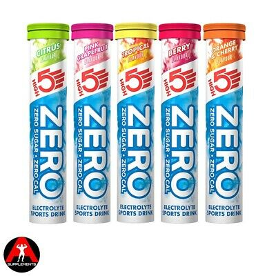 High5 Five Zero Electrolyte Sports Drink Tab Zero Calorie & Sugar 20 Tablets