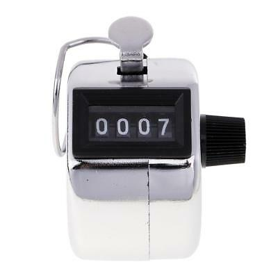 4 Digit Hand Tally Counter Digital Pitch Counter Clicker for Sports Games