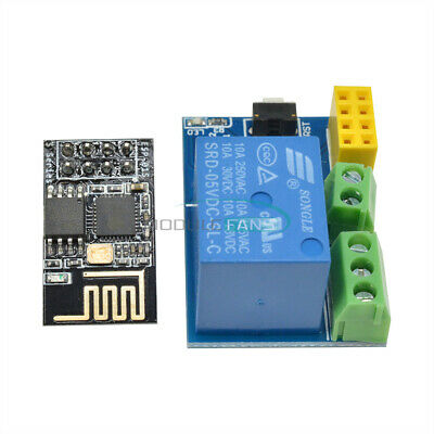 ESP8266 5V WiFi Relay Module Smart Home Phone Remote Control Switch APP ESP-01S
