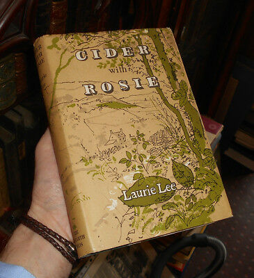 CIDER WITH ROSIE Laurie Lee SCARCE PUBLISHER'S NOTE RE PIANO SHOP 1959