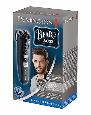 Remington Advanced Steel Tondeuse Barbe à Piles avec 2 Piles AAA
