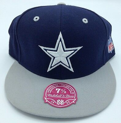 06003425c03 NFL Dallas Cowboys Mitchell   Ness Fitted Structured Cap Hat Beanie M N ...