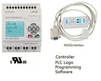 Programmable Logic Controller industrial automation PLC Programming Software UL