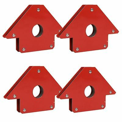 4 X 50Lb Magnet Magnetic Soldering Arrow Welding 3 Angles Clamp Hold Holder