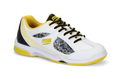 (US 7.5, UK 5, White/Blue) - Storm Women's Windy Bowling Shoes. Shipping is Free