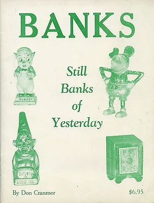 Antique Iron Still Banks - Types Dimensions / Illustrated Book + Values