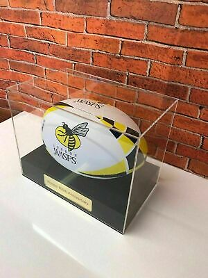 Display case Personalised For Rugby Ball