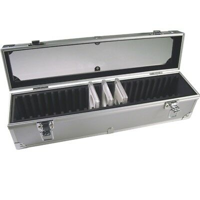 Aluminum Storage & Display Box Case Holds 25 PCGS NGS ANACS Coin Holders Slabs