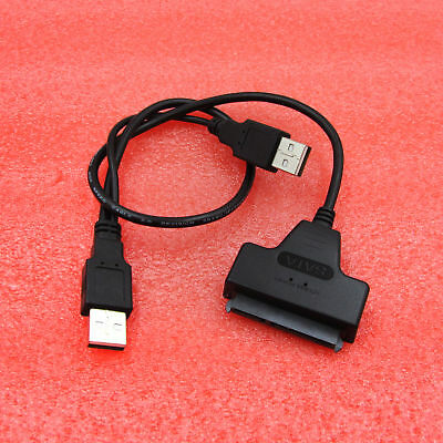 USB 3.0 To SATA 7 15 Pin 22Pin Adapter Cable For 2.5 3.5inch Hard Disk Drive