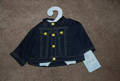 Denim Jacket  by Madame Alexander  for 19 to 20 Inch Baby Dolls New