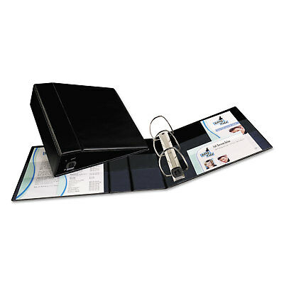"Avery Heavy-Duty Binder with One Touch EZD Rings 11 x 8 1/2 4"" Capacity Black"