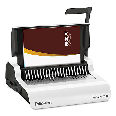 Fellowes Pulsar Manual Comb Binding System 300 Sheets 18 1/8 x 15 3/8 x 5 1/8